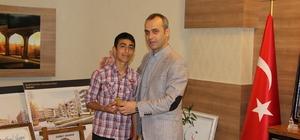 Cizre'de TEOG sınavında dereceye giren öğrenciler ödüllendirildi