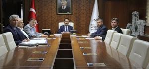 Acıgöl Organize Sanayii Yönetim Kurulu YToplantısı yapıldı