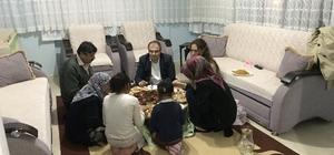 Kaymakam Üçer, iftar sofralarını konuk oluyor