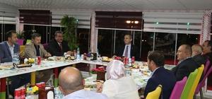 Kaymakam Pişkin'den basın mensuplarına iftar