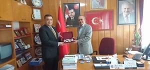 Ağır Ceza Mahkemesi Başkanı Muhammed Yavuz'dan Başkan Akar'a veda ziyareti
