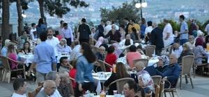 Şehit ve gazi yakınlarına iftar