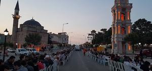 İpsala'da sokak iftarları