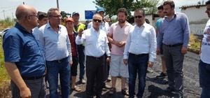 Başkan Kayda, Taytan'daki asfalt çalışmalarını inceledi