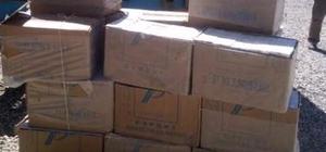 Başkale'de 39 Bin Paket Kaçak Sigara Ele Geçirildi.