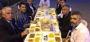 Elvanpazarcık Belediyesi iftar programı düzenledi