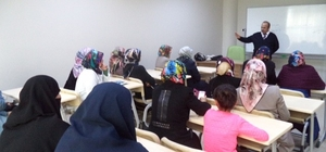 ERKADIN'ın kursiyerleri KOSGEP eğitimleri aldı