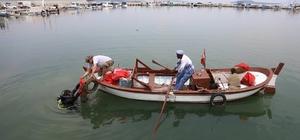 Urla'da kıyı ve deniz temizliği