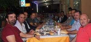AK Partililer sahur sofrasında buluştu