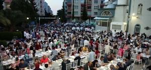 Atakum'da dev iftar sofrası