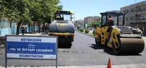 Büyükşehir, asfaltta 3 milyon hedefini de geride bıraktı