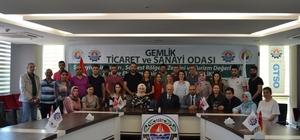 GTSO Akademi'de 3'üncü dönem tamamlandı