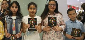 İlkokul öğrencileri şiir kitabı çıkardı