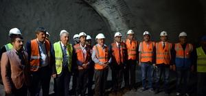 """""""Yılda 68 kilometre tünel bitiren bir ülke durumuna geldik"""""""