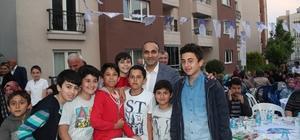 Başkan Ahmet Haşim Baltacı, komşuları iftarda ağırladı