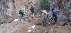 Emet'te Malı Damları yerleşim alanında içme suyu sıkıntısı