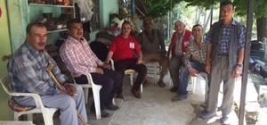 Şaphane'de 200 aileye gıda yardımı