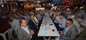 Başkan Türel iftarını Serik'te açtı