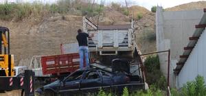 Gazipaşa Sanayi Sitesinde hurda araç temizliği