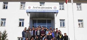 AFAD Erzurum'dan eğitime destek