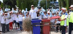 İncirliova'da 'Yarınlarımız için çöpler çöp kutusuna' etkinliği