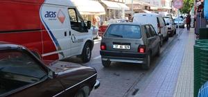 Bozkurt'ta işyerlerinin önüne duba koyan işletmelere trafik cezası