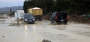 Burdur'da şiddetli yağış