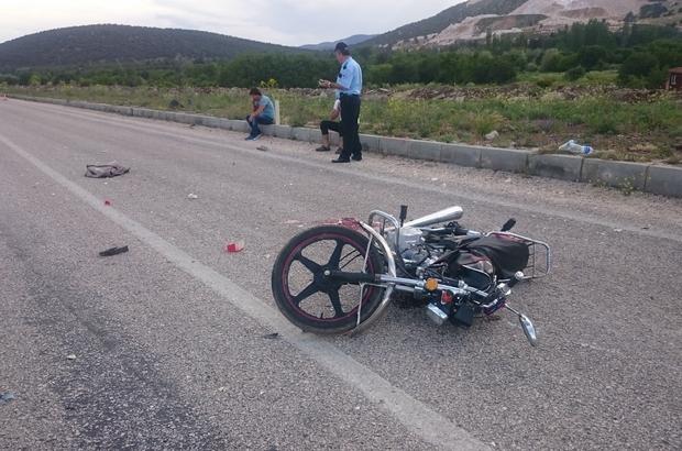 Burdur'da trafik kazası: 1 ölü