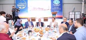 Sultangazi'deki iftar yemeği öğrencileri bir araya getirdi