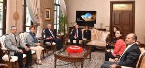 AB Türkiye Delegasyonu Başkanı Berger, Hatay'da