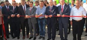 Erzin Atık Su Arıtma Tesisi törenle açıldı