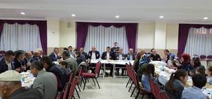 AK Parti Pazaryeri İlçe Teşkilatı iftarda buluştu