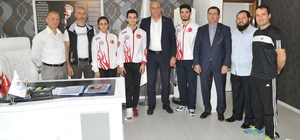 Şampiyon Wushucular Trabzon'a döndü