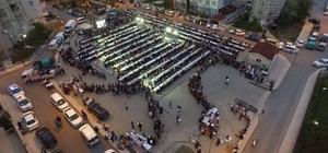 'Sofralar kuruluyor, gönüller bir oluyor' iftarları