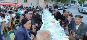 Yahyalı'da kardeşlik sofrası Gazibeyli'de kuruldu