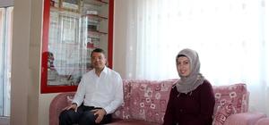 Başkan Turgut'tan şehit ailelerine ziyaret