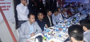 MHP Şehitkamil ilçe teşkilatı iftar yemeğinde buluştu