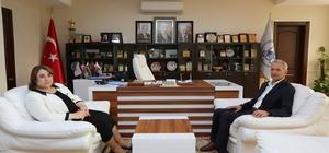 İl Milli Eğitim  Müdürü Töre'den, Başkan Dişli'ye ziyaret