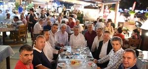 Başkan Böcek, İlçe muhtarları ile iftar yaptı