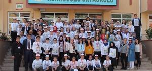 Emet'te 4 öğrenci Türkiye birincisi