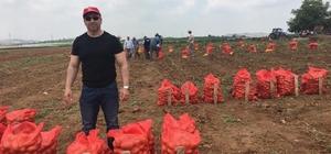 Tescilli yerli patateslerin hasadı yapılıyor