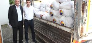 Devrek  TSO' dan  ihtiyaç sahiplerine gıda yardımı