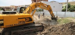 Cudi Mahallesi'nde alt yapı çalışmaları devam ediyor