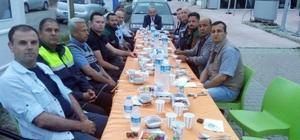 Tekirdağ İl Emniyet Müdürü Aydın görev başında iftar yapan polisleri yalnız bırakmıyor