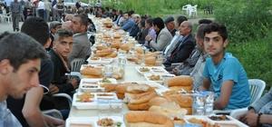 Kaymakamlıktan köy meydanında iftar programı