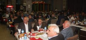 Musa Işın, iftar programlarına devam ediyor