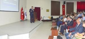 'Yenilenebilir Enerji Teknolojileri ve Elektrik Sistemine Entegrasyonları' semineri ÇOMÜ'de yapıldı