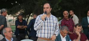 Büyükşehir'in iftar sofrası bu kez Birecik'te açıldı