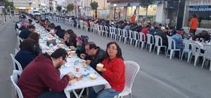 İpsala'da Cadde iftarları devam ediyor