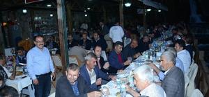 Başkan Eser iftar verdi